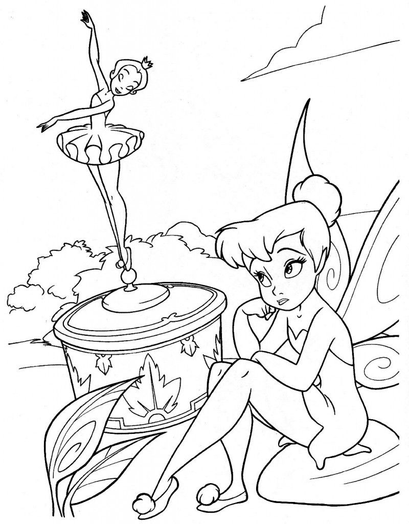 Free Printable Disney Fairies Coloring Pages For Kids ...