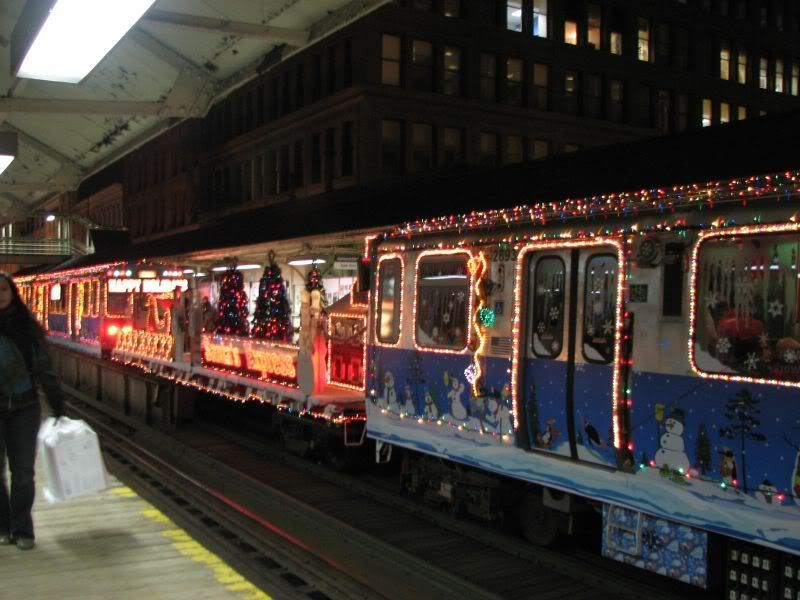 chicago christmas train holiday delight - Christmas Train Chicago