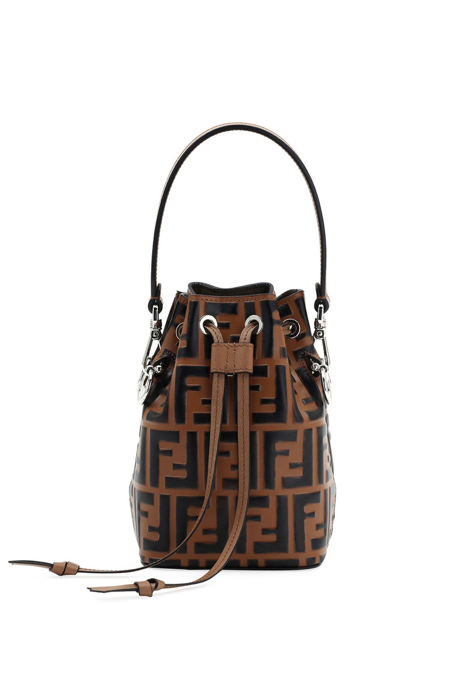 18ddf74f67dc Fendi Mon Tresor Small FF Bucket Bag