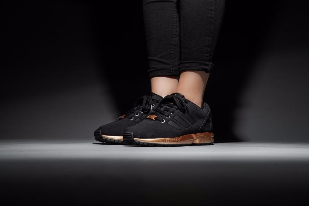 adidas zx flux rose gold sohle