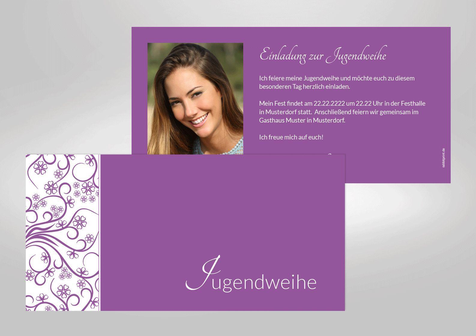 good einladungskarten jugendweihe vorlagen #1: einladungskarten-jugendweihe-vorlagen