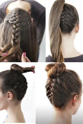 Peinados para la escuela  9972fe1b23c2