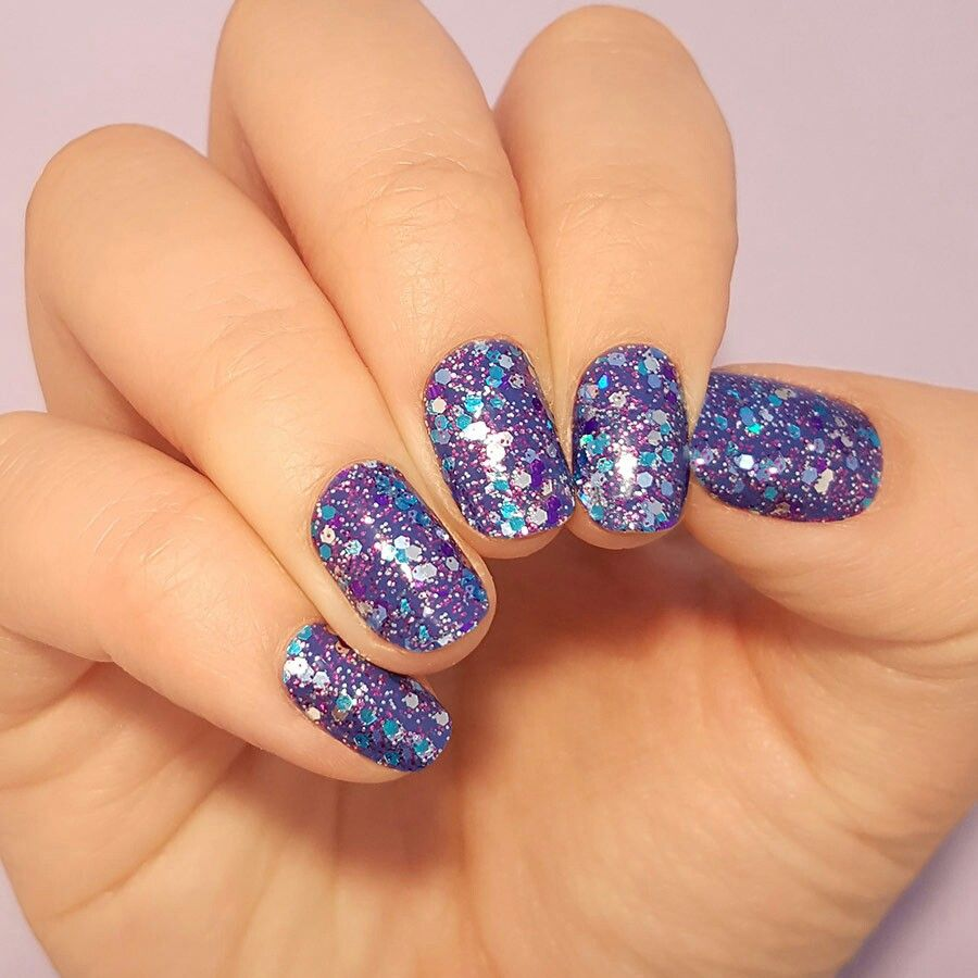 Mardi Gras Color Street Nails are 100% nail polish strips ...