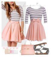 25 ideas de vestimenta de Polyvore para marcar tendencias  Source by Faldasblogg ideas for teenagers for school
