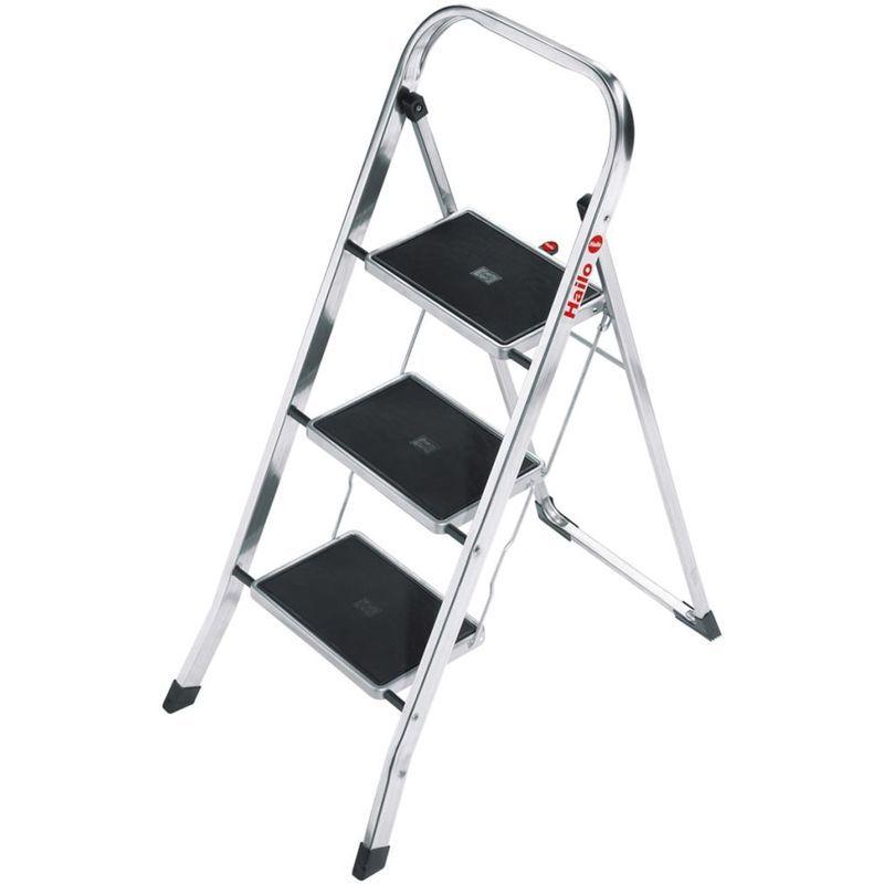 Hailo Escabeau Pliable K30 3 Marches 105 Cm 4393 801 Plastic Step Stool Ladder Foldable Stool
