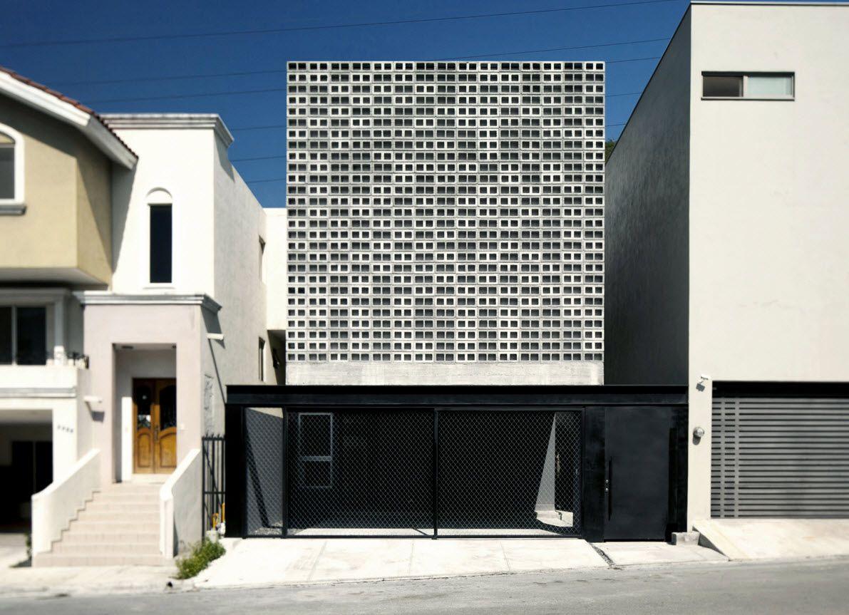 Planos casa dos pisos 9 x 20 de hormigón   Construye Hogar