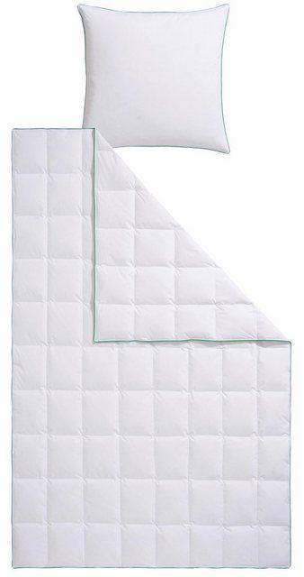 Bettdecke Kopfkissen Fee Fjodur Leicht Material Fullung