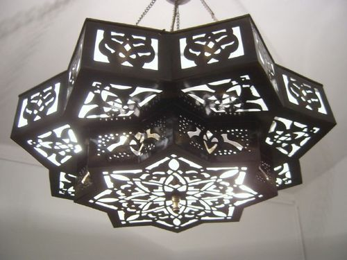Moroccan Style Middle Eastern Star Chandelier Lamp   Eastern star ...