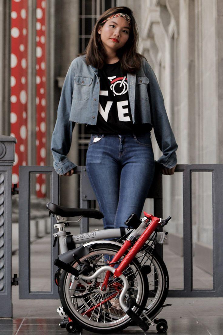 Check Out Our T Shirts And Matching Brompton Bike Brompton Singapore Women Men Bicycle Cycle Bikes Fashion Tshir Brompton Bicycle Girl Folding Bike