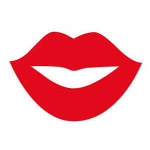 best lips clip art free clipart picture of red lips in a smile rh pinterest com lips clip art free kiss red lips clip art free