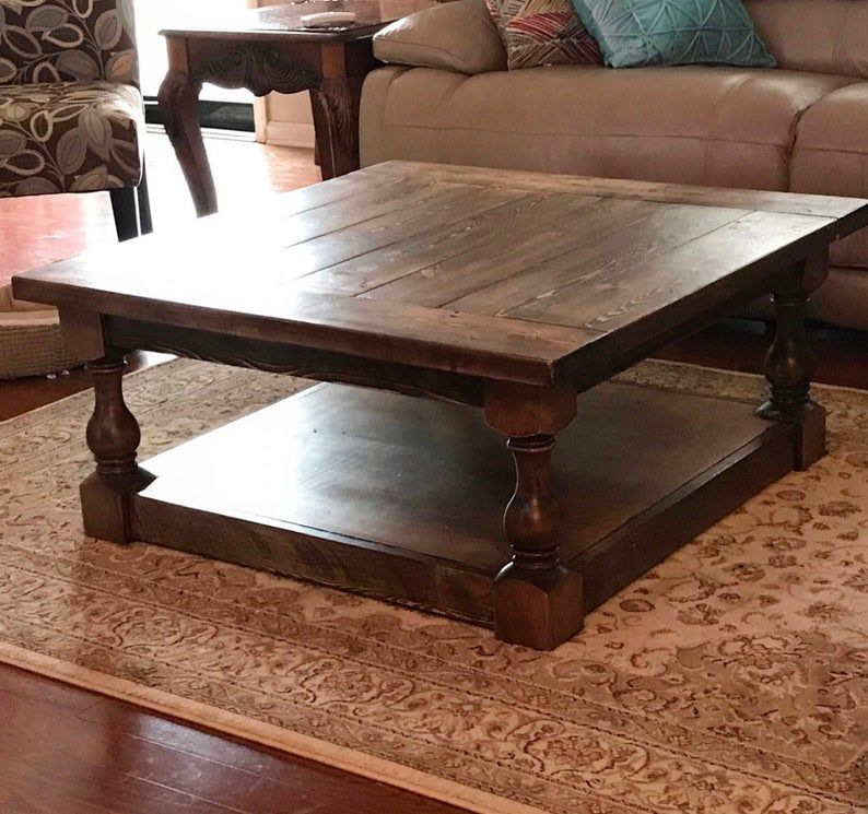 Countryside Chunky Farmhouse Bench Legs Set of 4 Etsy in