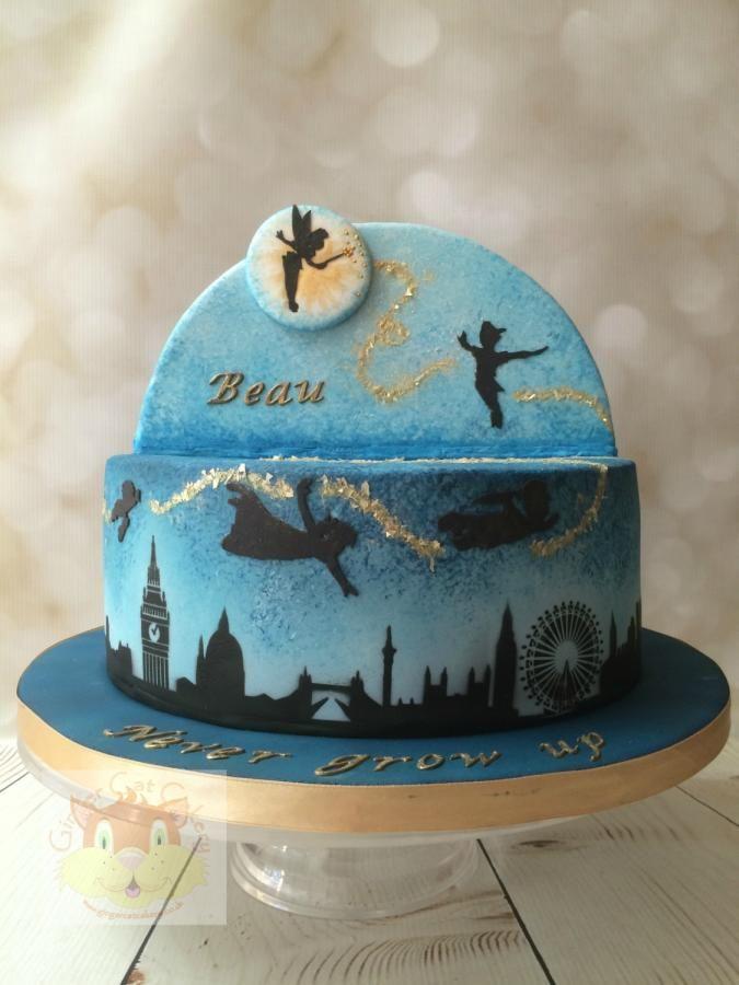 Phenomenal 214 Best Disneys Peter Pan Cakes Images Peter Pan Cakes Disney Personalised Birthday Cards Paralily Jamesorg