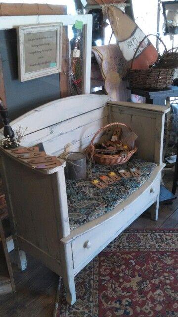 Bench from dresser