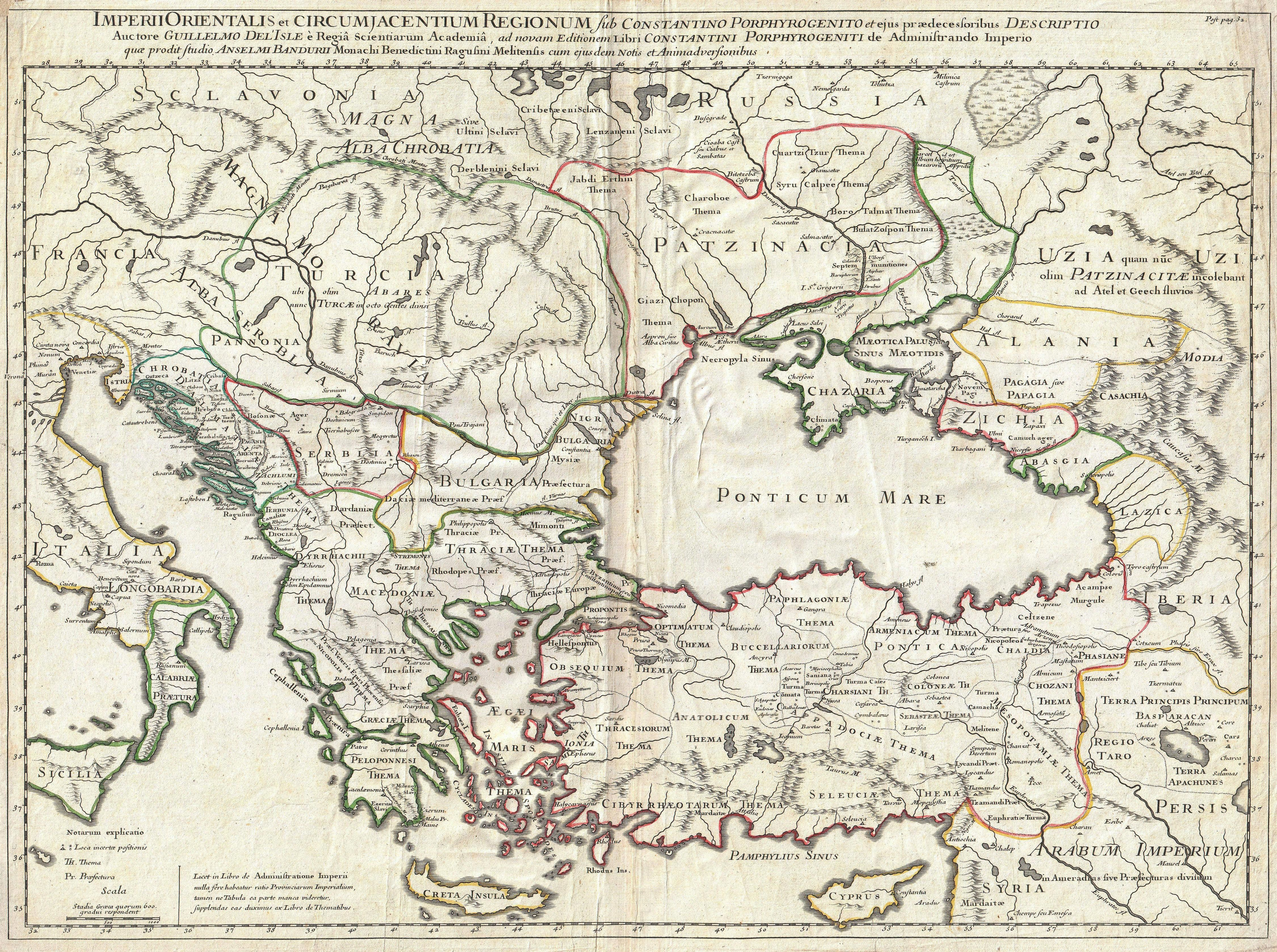 1715 de lisle map of the eastern roman empire under constantine 1715 de lisle map of the eastern roman empire under constantine sciox Gallery