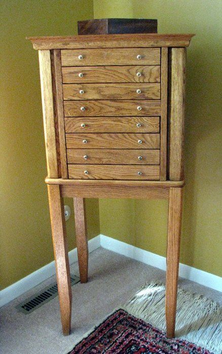 pallet wood jewelry armoire projects Pinterest Pallet wood