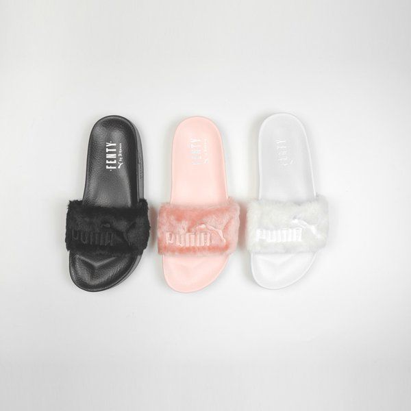 buy online 91f4e f8a4e Rihanna x Puma Leadcat Fenty Slides Available Now! | Kicks ...