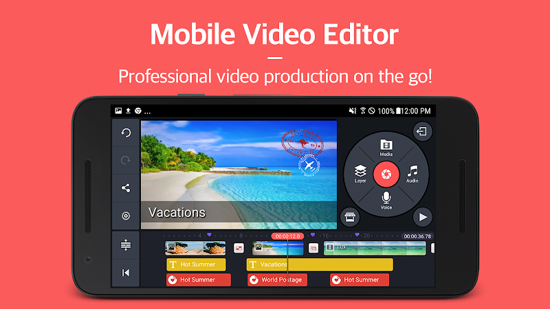 Kinemaster Pro Mod APK v4 8 12 Without Watermark Free