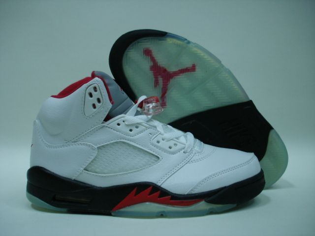 2d6e02037a50 OnlyAlv     son 03 11 2010 AIR JORDAN RETRO 5 2000 WHITE BLACK FIRE RED  Free Shipping!