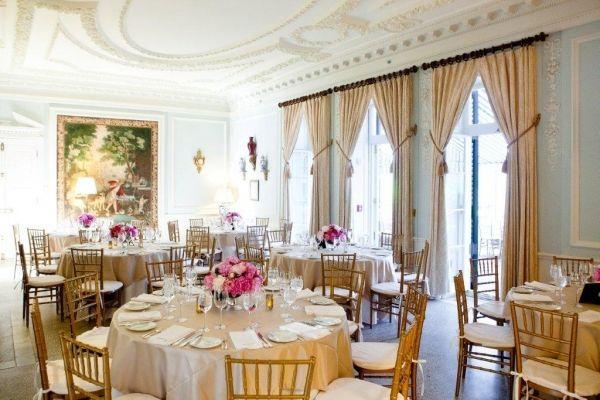 Weddings - The Mount | Edith Wharton's Home. Living room ...