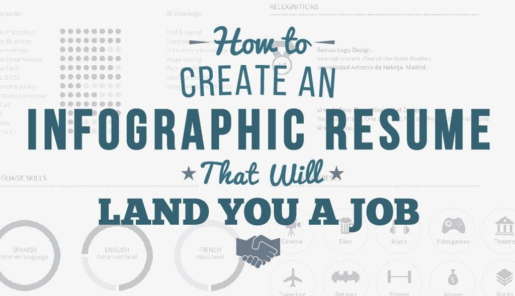 Create Resume How To Create An Infographic Resume That Will Land You A Job Or .