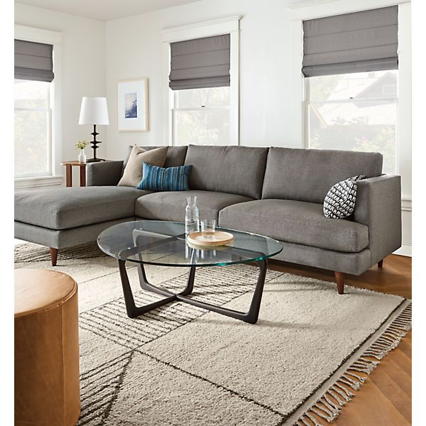 Astonishing Campbell Sectionals Modern Living Room Furniture Modern Onthecornerstone Fun Painted Chair Ideas Images Onthecornerstoneorg