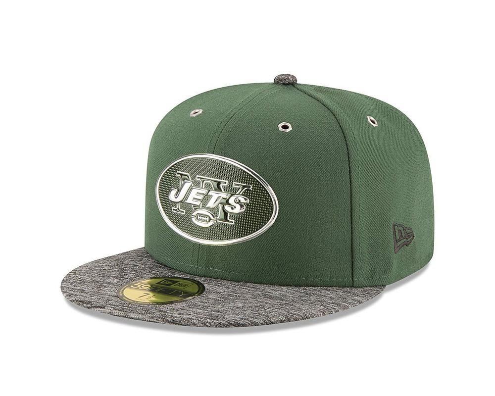 New Era 59Fifty New York Jets 2016 Draft Day Fitted Hat Size 8 1 4 NFL Cap  Sz  NewEra  2016Draft  NewYorkJets 5e052ca9e8a3