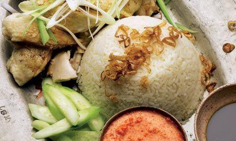 Hainanese Chicken Rice Recipe Plus Penang Acar Chicken Rice