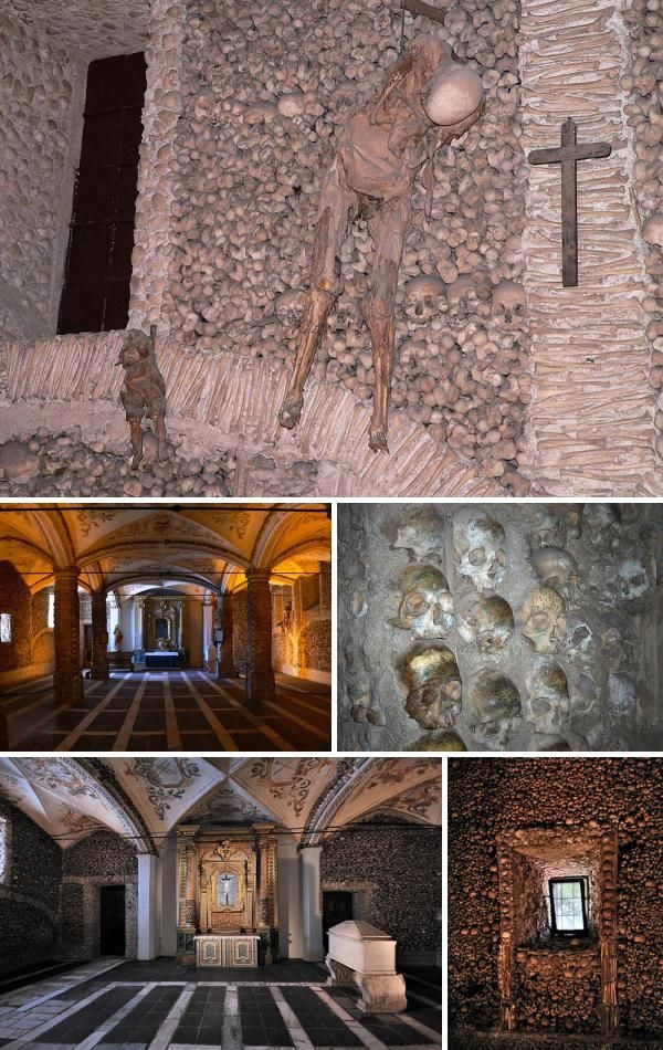 Cities Of The Dead 7 Sinister Ossuaries Sinister Abandoned Places Cemeteries