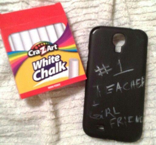 Board Httpinstructablesidchalk Board Phone Case Diy