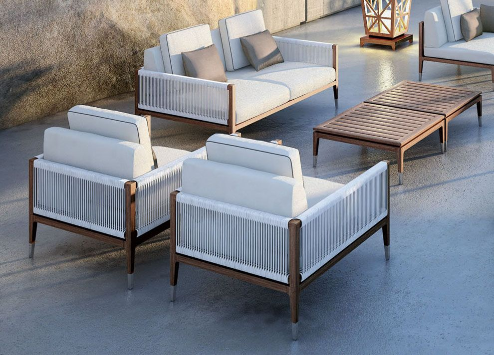 The Amalfi Garden Chair From Smania, Italy Is Part Of Their U0027Costa Rayu0027  Collection Of Luxury Garden Furniture In Teak.