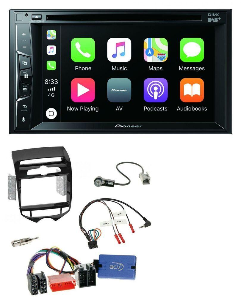 Pioneer Lenkrad Usb Dvd Bluetooth Dab 2din Autoradio Für Hyundai Ix20 Ab 10 Auto Stuff To Buy Hifi Gps