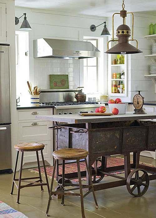 cocina : Una Barra o Isla de Cocina de Diseño Original | Especial ...