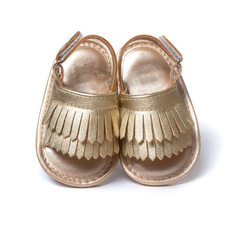 Sommer Kind Baby Mädchen Quaste Schuhe Leder Weichen Boden Krippe anti-rutsch Schuh Ersten Wanderer LH6s