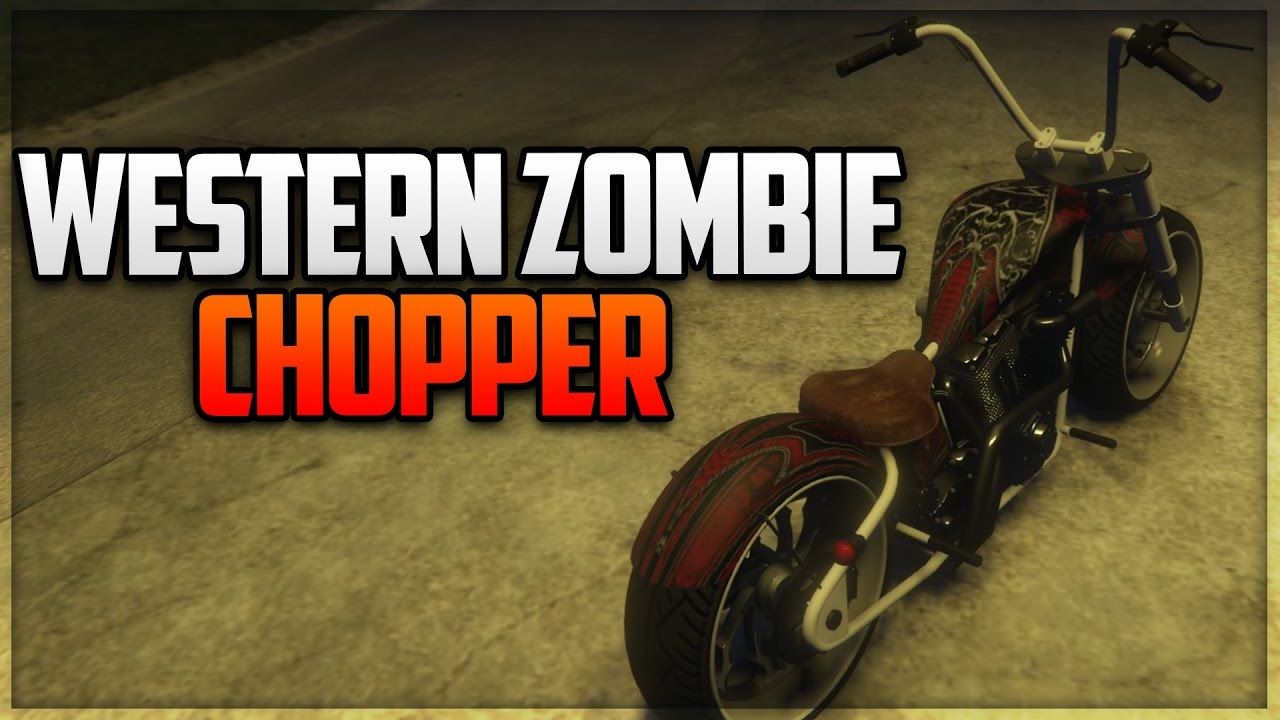 Gta 5 Online Western Zombie Chopper Full Customization Gta 5