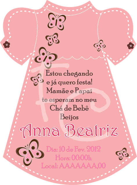 Convite Cha De Bebe Islanuevodiarioco