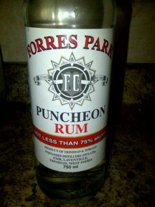 Forres Park Puncheon Rum Big Man Rum From Trinidad Trinidad Trinidad And Tobago Rum