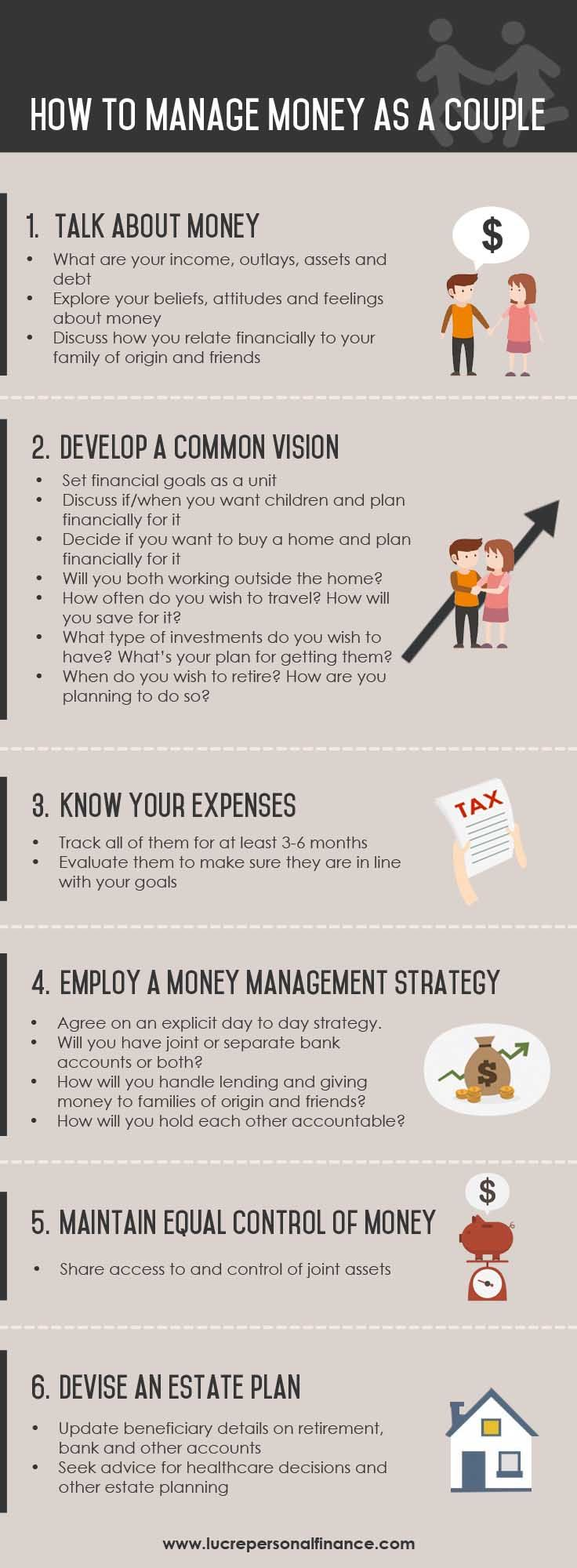 How to Manage Money as a Couple, Married or Not - 6 Tips | Finanzen ...