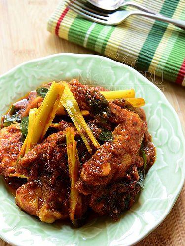 Dapur Tanpa Sempadan Resipi Ayam Masak Bali