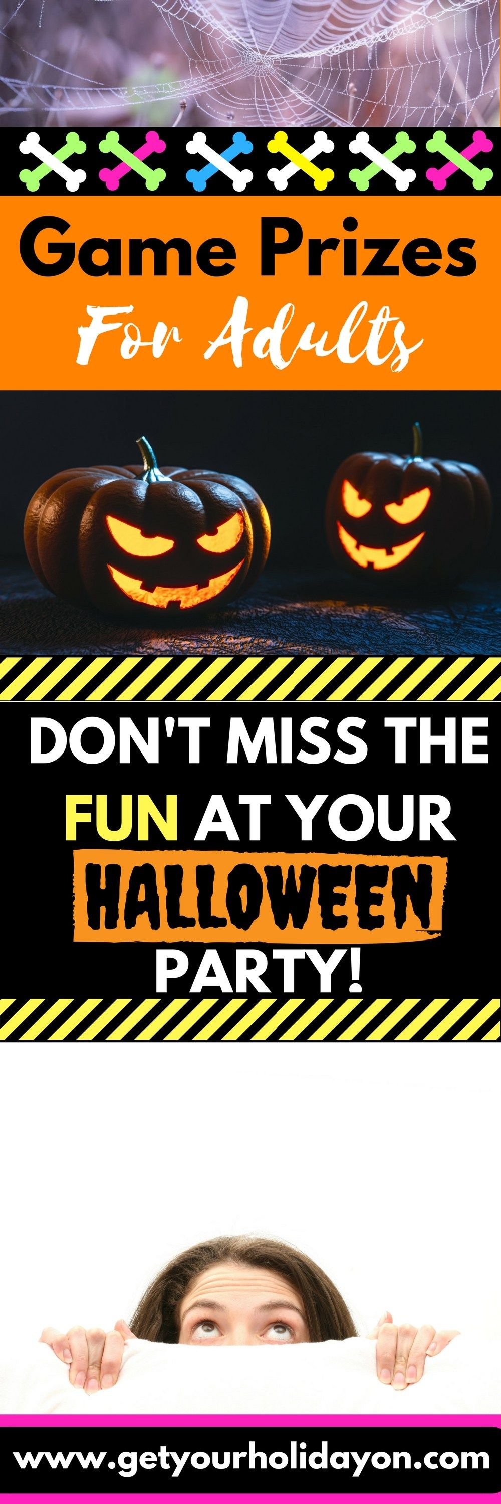 Adult Halloween Party Game Prizes | Pumpkin carving contest, Game ...