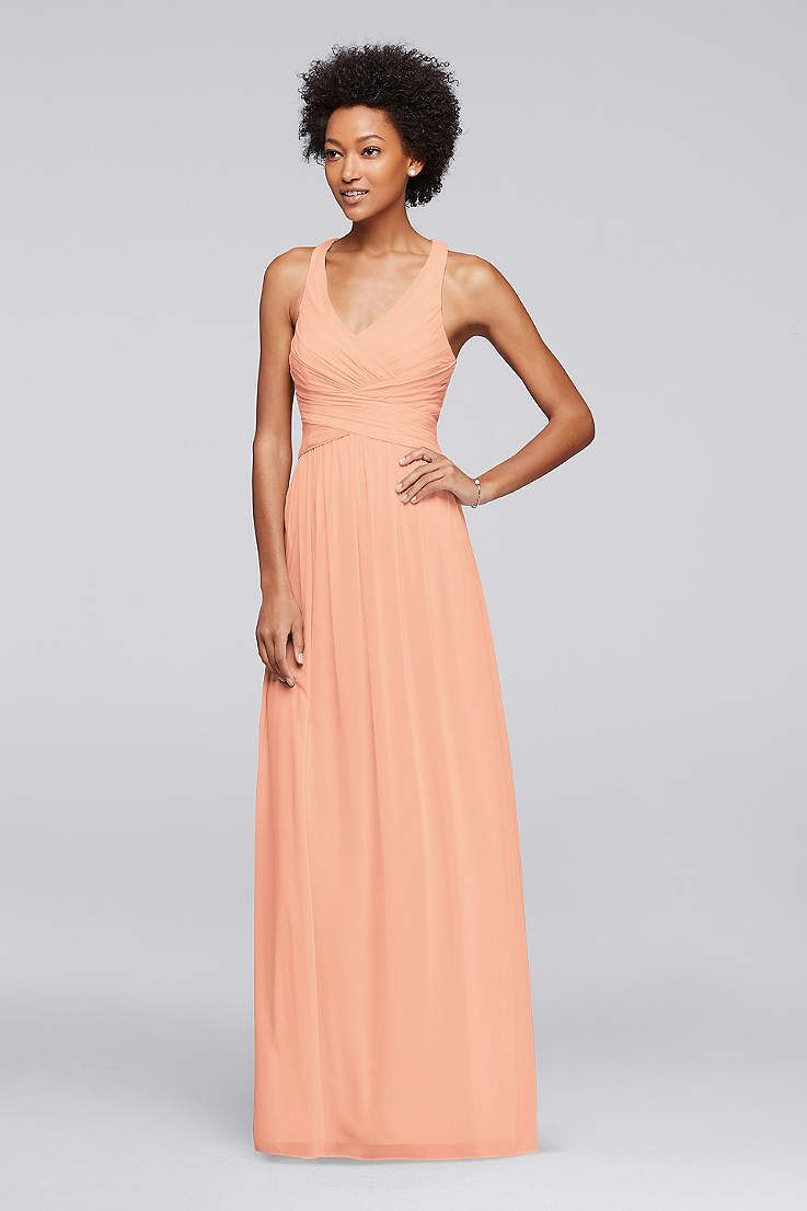 Long bridesmaid dress at davidus bridal bridesmaid dresses
