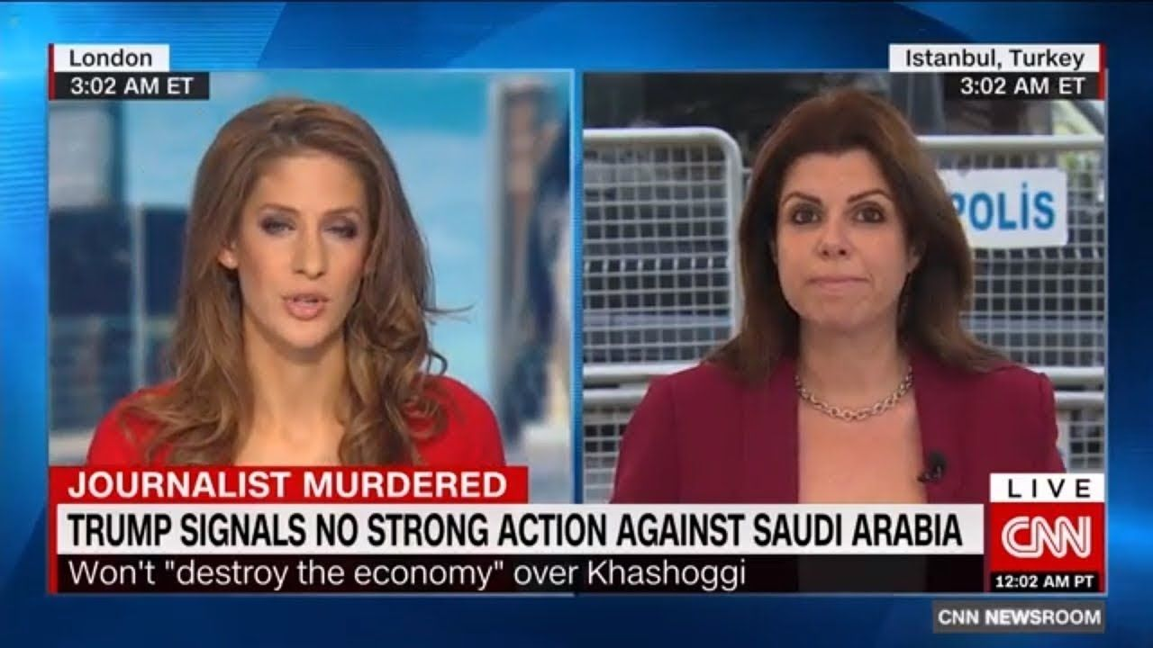 CNN Bianca Nobilo | Shocked | Trump Signals U S Won't Punish