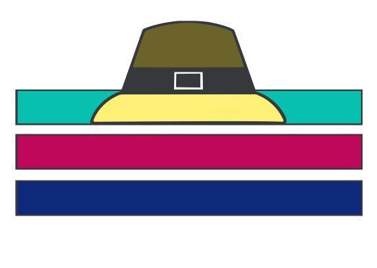 26+ Pilgrim Hat Templates : Kids enjoy making Piligrim ...