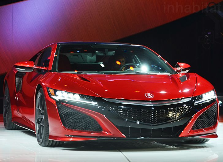 Acura unveils production-ready NSX hybrid supercar at the 2015 Detroit Auto Show | Inhabitat - Sustainable Design Innovation, Eco Architecture, Green Building