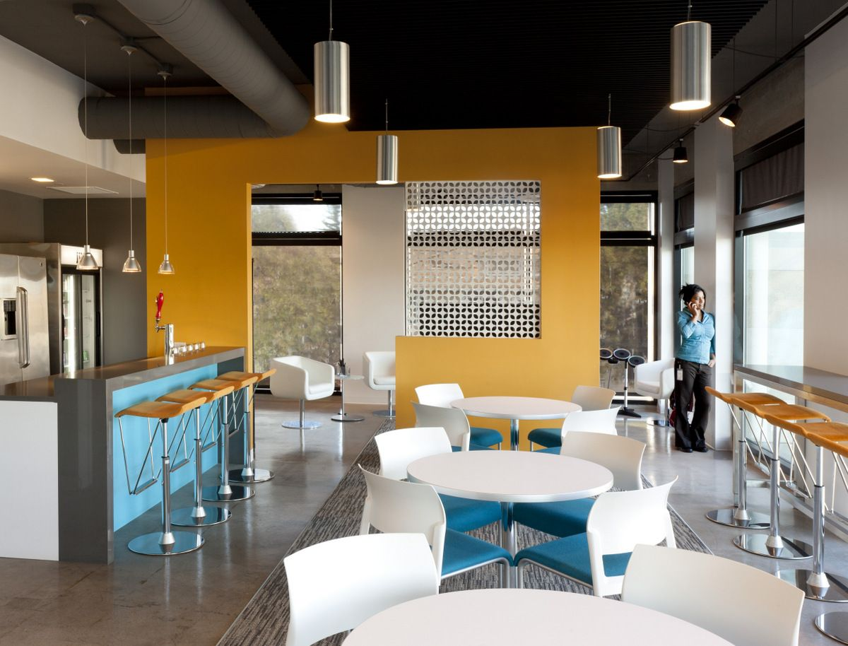 Interior Design Office Space Colors: Office Tour: Jive Software's Palo Alto Offices