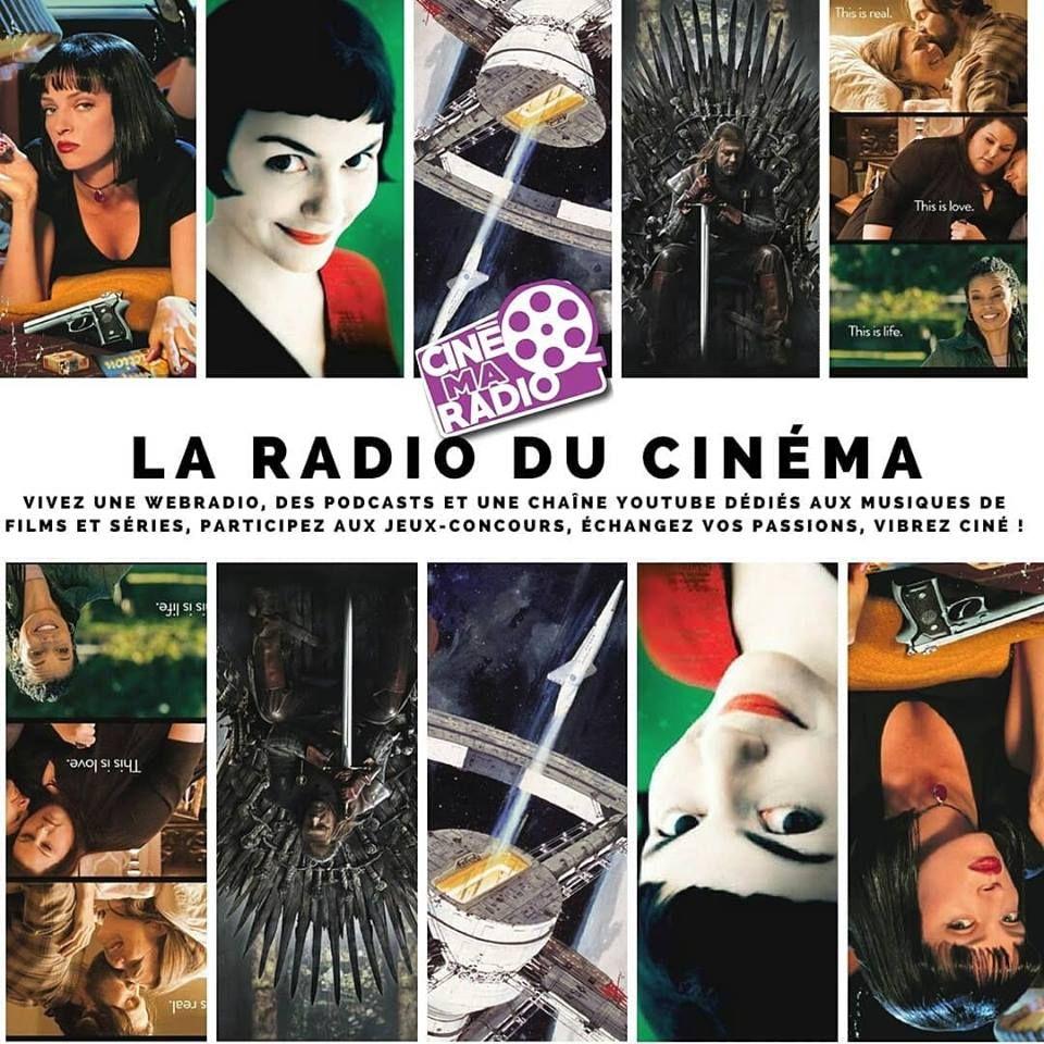 Cinemaradio Podcast Webradio Cinema Youtube Movies Storytelling Musique Soundtrack Musique Film Cinema Bande Originale