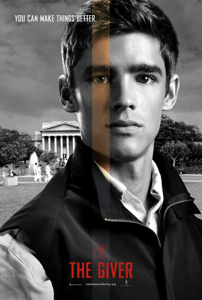 The Giver Movie Dystopian Young Adult Mustread Being Turned