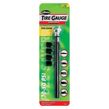 10-50 PSI Pencil Tire Gauge and Valve Caps : Target