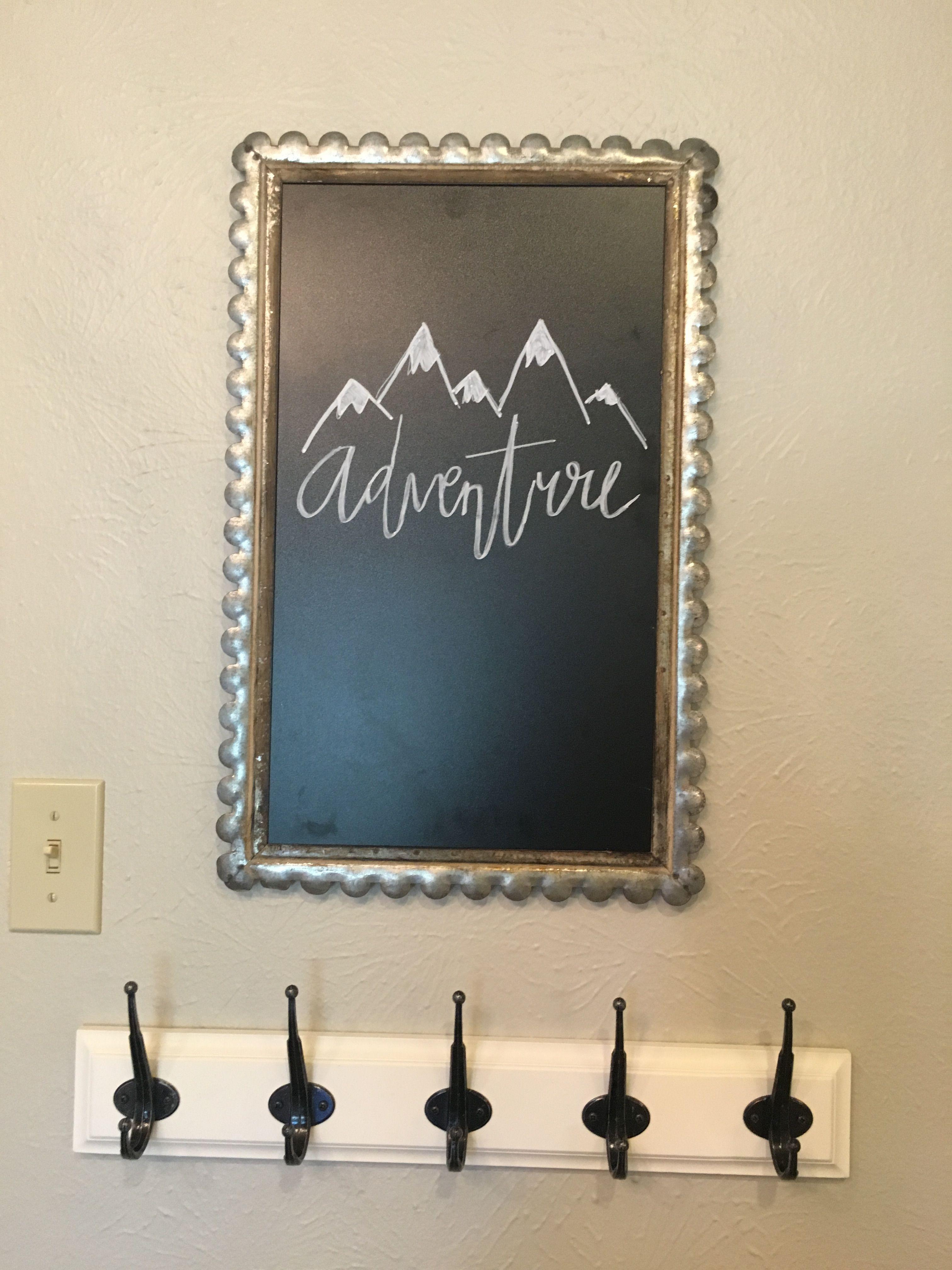 Cute chalkboard idea chalkboard wall art chalkboard