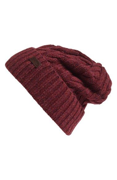 a6ae361ce5e Free shipping and returns on Barbour Lambswool Cable Knit Hat at  Nordstrom.com. Cozy