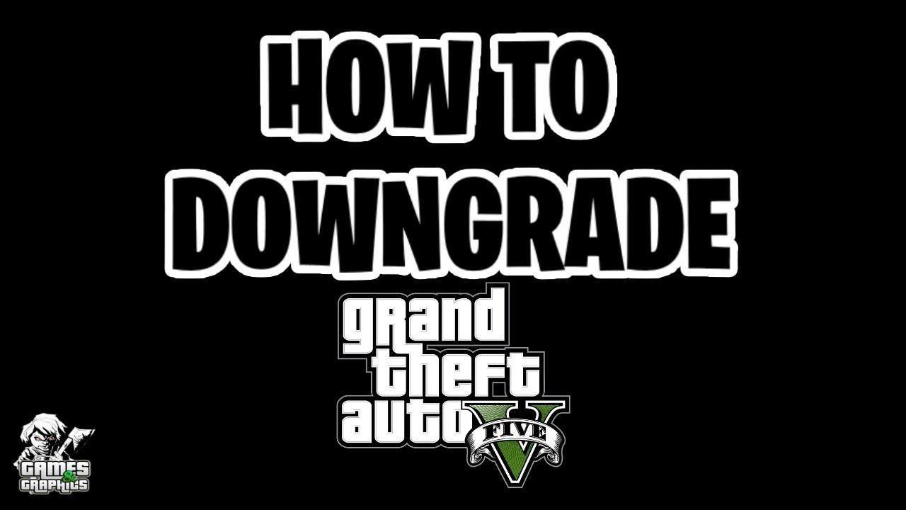 How To Downgrade Gta 5 Scripthookv Fix Pc Only I Will Fix Your Windows Desktop Laptop Or Mac Fix You Text Tutorial Gta